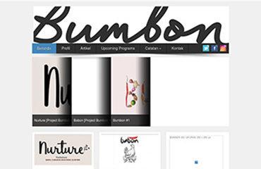 bumbon project petaniwebsite jasa website gallery komunitas seniman wanita galeri seni art keren jasa kelola website upload foto tulisan terjemahan