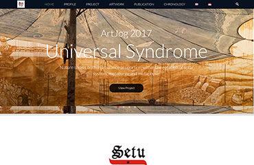 setulegi hestu a nugroho petaniwebsite jasa website keren gallery seniman instalation artwork galeri seni art portfolio jasa kelola website upload fo