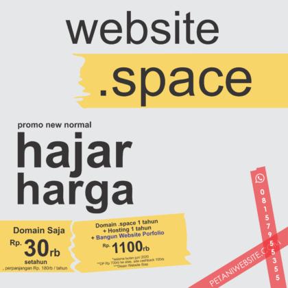 promo space bangun web